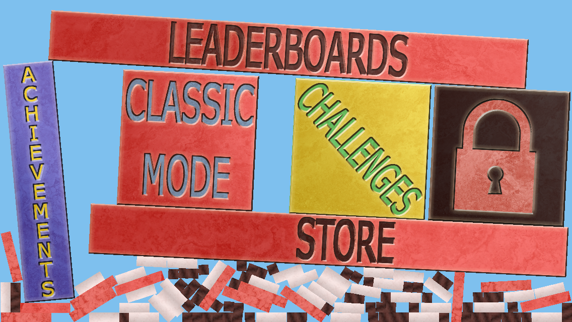 Bridge of Blocks Menu